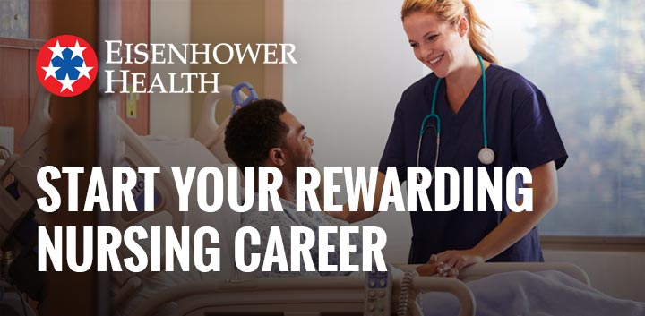 Start Your Career with Eisenhower Health