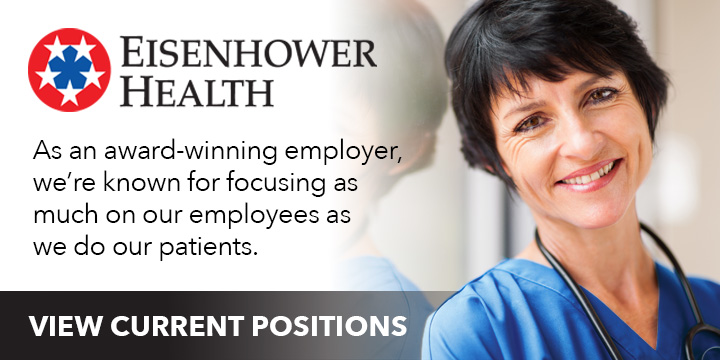 View Current Positions at Eisenhower Health
